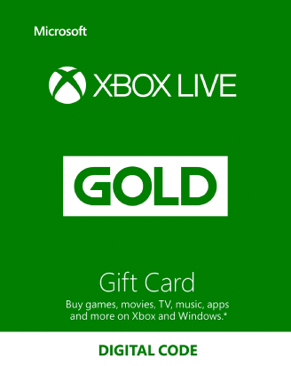 Xbox Live Gold Gift Cards